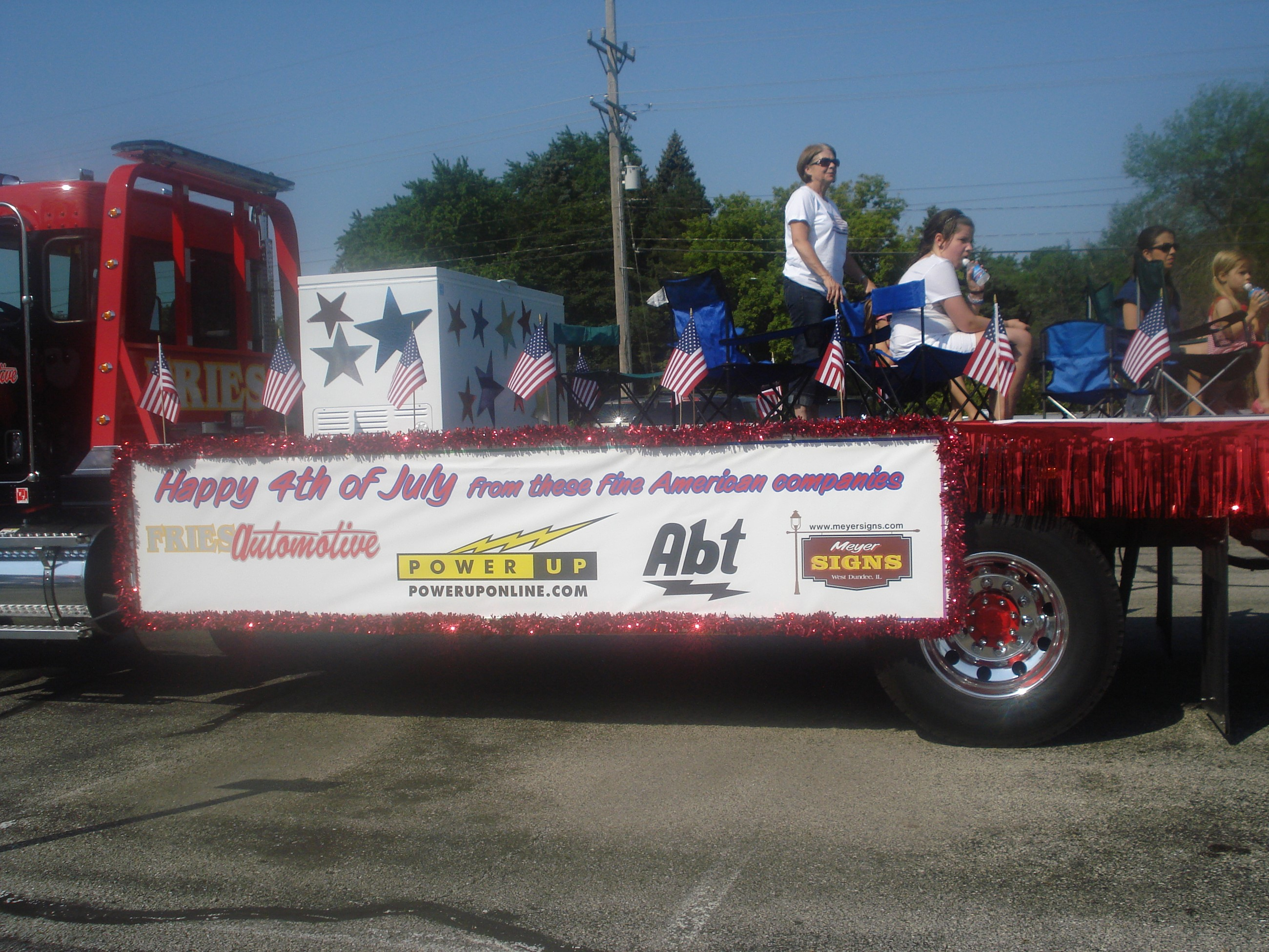 Fourth of July Parade 2012